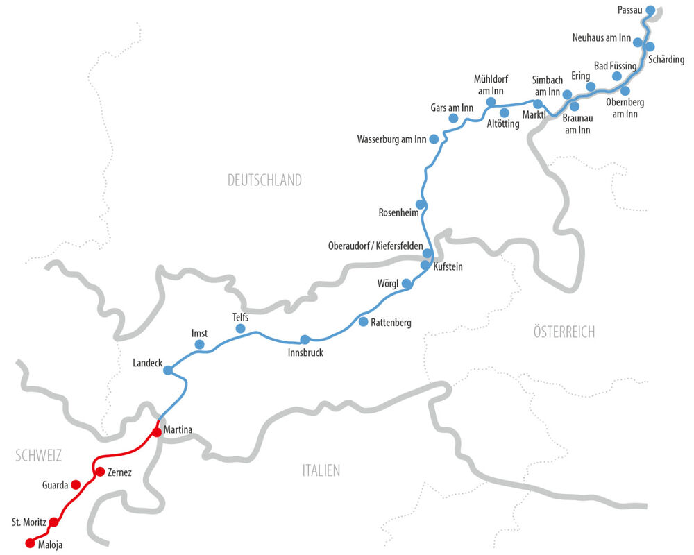 Innradweg Schweiz
