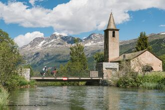 Kirche San Lurench in Sils